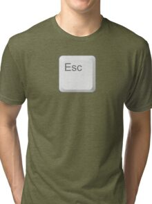Esc Key Tri-blend T-Shirt