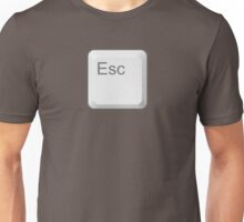 Esc Key Unisex T-Shirt