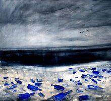 blue bottles by glennbrady