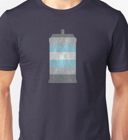 Demiboy Pride Police Box Unisex T-Shirt