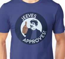 Jeeves Approves! Unisex T-Shirt