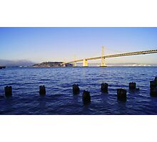 Bay Bridge in Late Afternoon Photographic Print