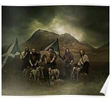a scott black improvement!..a big scottish hunt! Poster