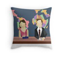 Saturday Night Live S38E10 Throw Pillow