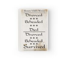 Henry VIII's Six Wives Hardcover Journal