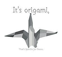 Saturday Night Live S38E10   Origami Photographic Print
