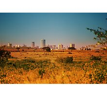 Nairobi National Park, Kenya Photographic Print