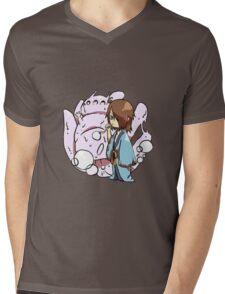 Utakata&Saiken Mens V-Neck T-Shirt
