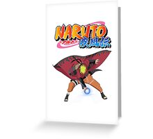 Naruto Rasengan Sage Greeting Card