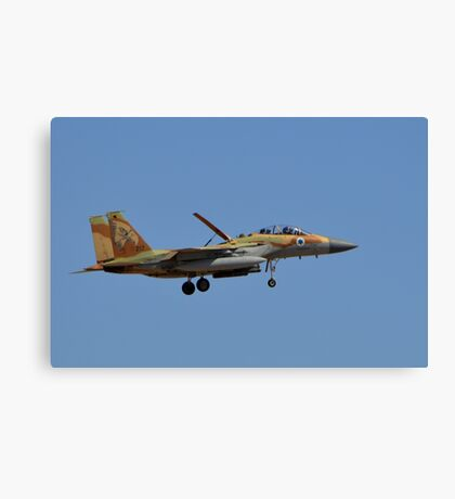 Isaraeli Air Force F-15I Canvas Print