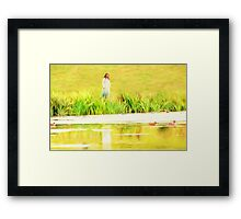 Lakeside Daydreams Framed Print