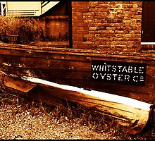 Rowing boat, Whitstable, Kent by Ian Midwinter