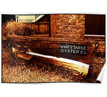 Rowing boat, Whitstable, Kent Poster