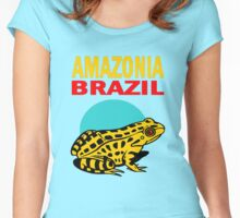 AMAZONIA, BRAZIL Women's Fitted Scoop T-Shirt