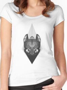 Norse Arrow Toothless Women's Fitted Scoop T-Shirt