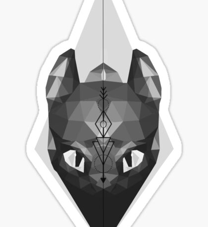 Norse Arrow Toothless Sticker