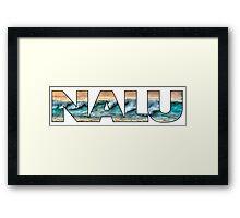 Nalu - wave Framed Print