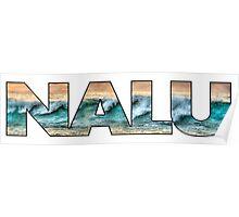 Nalu - wave Poster