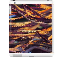 Colourful palm leaves background  iPad Case/Skin