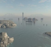 Drowned City Ruins of Atlantis by algoldesigns