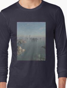Drowned City Ruins of Atlantis Long Sleeve T-Shirt