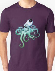 Monocle Octopus Unisex T-Shirt