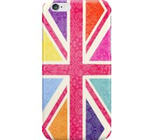 Pink Union Jack iPhone Case/Skin