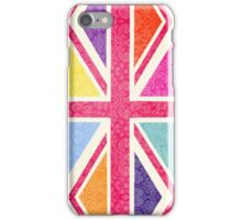 Pink Union Jack iPhone Case/Skin