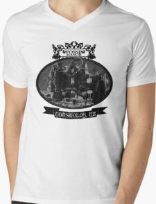 fosse manor hotel cotswolds UK Mens V-Neck T-Shirt