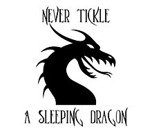 Tickle A Dragon Photographic Print
