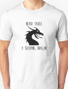 Tickle A Dragon Unisex T-Shirt