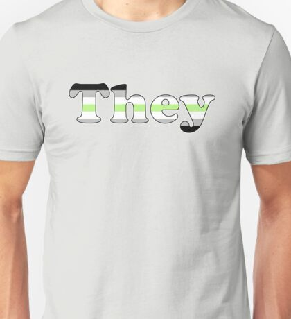 They (Agender) Unisex T-Shirt