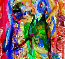 Abstract 9080 by Rafael Salazar