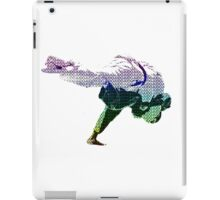 Judo Throw in Gi 2 Multicolour  iPad Case/Skin