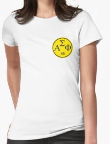 Alpha Sigma Phi- Dortmund Logo 1845 Womens Fitted T-Shirt