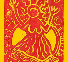 Celebrate Summer Solstice poster by ishara