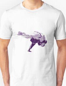 Judo Throw in Gi 2 Purple  Unisex T-Shirt