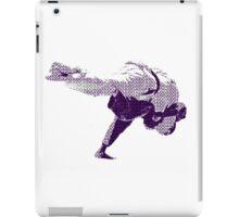 Judo Throw in Gi 2 Purple  iPad Case/Skin