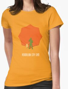 Vermillion City Gym Womens Fitted T-Shirt