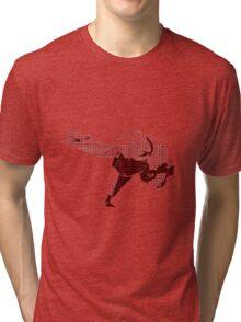 Judo Throw in Gi 2 Red Tri-blend T-Shirt