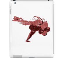 Judo Throw in Gi 2 Red iPad Case/Skin