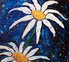 Dancing Daisies by Robin Monroe