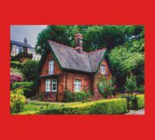 Cottage in Princes Street Gardens Kids Tee