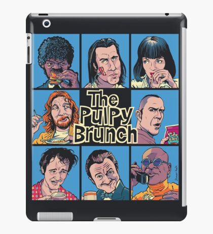 The Pulpy Brunch iPad Case/Skin