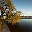 Lake Burley Griffin, Canberra by Malcolm Katon