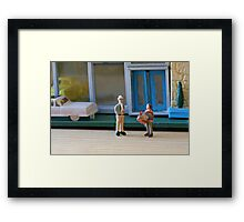Oh for heaven's sake, Stuart! I said this new business is supposed to be a TURNKEY operation. Framed Print