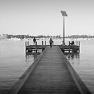 Jetty at Minim Cove - Pinhole by pennyswork