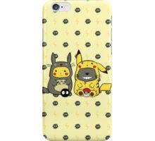 Totoro and Pikachu Onesies iPhone Case/Skin