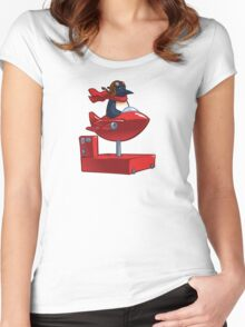 Insert Coin Women's Fitted Scoop T-Shirt