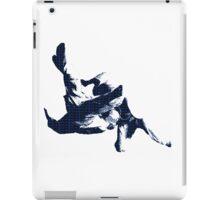Judo Throw in Gi 3 Blue  iPad Case/Skin